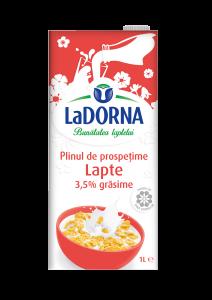 Lapte integral 3.5% grasime LaDorna 1l