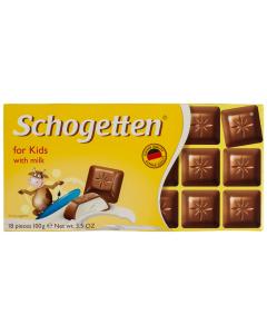 Ciocolata cu lapte Schogetten 100G