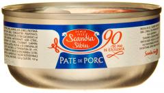 Pate de porc Scandia Sibiu 120g