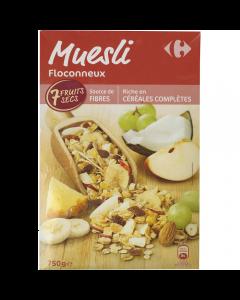 Musli cu fructe Carrefour 750g