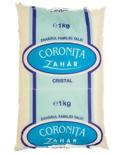 Zahar punga plastic Coronita 1kg