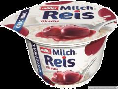 Desert de orez cu lapte si cirese Muller 200g