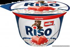 Desert de orez cu lapte si capsuni Muller Riso 200g
