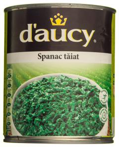 Spanac taiat D'Aucy 795g