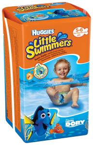 Scutece HLS Dory Little Swimmers nr 5-6 11 buc 12-18 kg Huggies