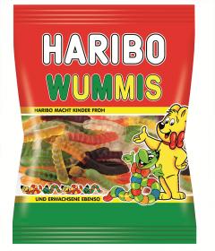 Jeleuri gumate cu gust de fructe Haribo Wummis 200g