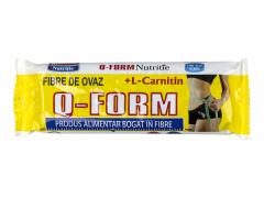 Baton cu fibre de ovaz si L-Carnitina Rommac Q-Form 60g