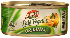 Pate vegetal original Mandy 120g