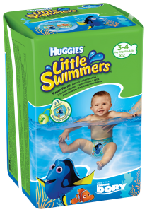 Scutece HLS Dory Little Swimmers nr 3-4 12buc 7-15 kg Huggies