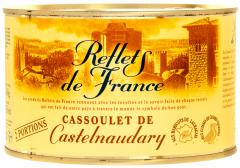 Mancare de fasole cu carne de rata Reflets de France 840g