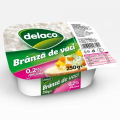 Branza Proaspata 0.2% grasime Delaco 250g