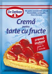 Crema pentru tarte cu fructe Dr.Oetker 55g