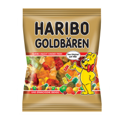 Jeleuri gumate cu gust de fructe Haribo Goldbaren 200g