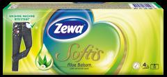 Batiste nazale Zewa Softis Aloe Balsam 4 straturi, 10x9 bucati