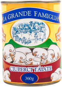 Ciuperci taiate La Grande Famiglia 360g