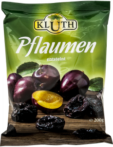 Prune deshidratate fara samburi Kluth 200g