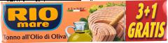 Conserva ton in ulei de masline Rio Mare 4x80g