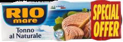 Conserva tonno al naturale Rio Mare 3x160g
