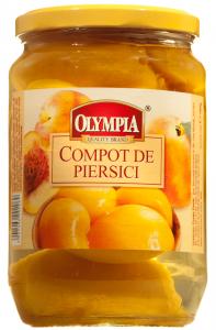 Compot de piersici Olympia 700g