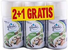 Rezerva spray automatic Glade Bali sandalwood&jasmine 2+1 gratis 3x269 ml