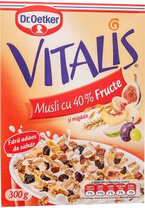 Musli cu fructe Dr. Oetker Vitalis 300g