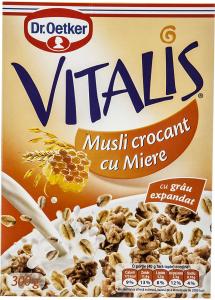 Musli crocant cu Miere Dr.Oetker Vitalis 300g