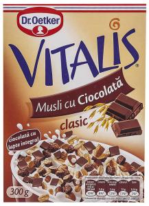 Musli cu ciocolata Dr. Oetker Vitalis 300g