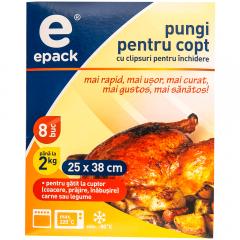 Pungi pentru copt E Pack 8 buc