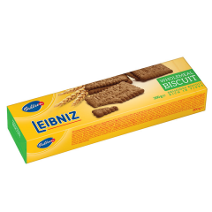 Biscuiti din faina integrala Leibniz Crunchy Wholemeal Biscuits 200g