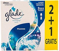 Rezerva Glade microspray Marine 2+1 Gratis 3 x 10 ml