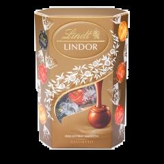 Bomboane asortate din ciocolata Lindt Lindor 200g