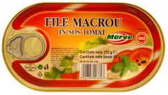 File macrou in sos tomat Merve 170g