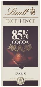 Ciocolata extra fina amaruie 85% cacao Lindt 100g
