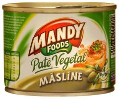 Pate vegetal cu masline Mandy 200g