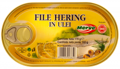File hering in ulei Merve 170g