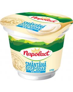 Smantana 15% grasime Napolact Gospodar 175g