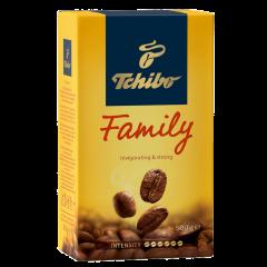 Cafea prajita si macinata Tchibo Family 500g