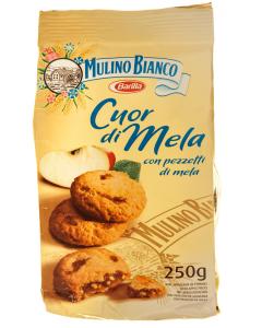 Biscuiti cu bucati de mar Mulino Bianco 250g