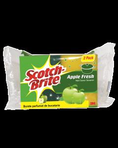 Burete protectie unghii parfumat-mere Scotch-Brite 2buc