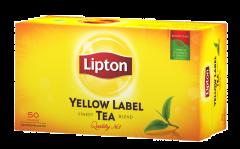 Ceai negru Lipton Yellow Label 100g