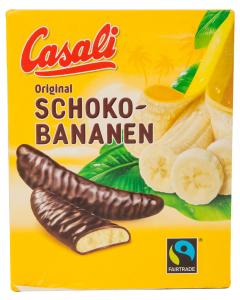 Batoane ciocolata si crema de banana Casali 150g