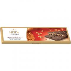 Ciocolata cu lapte si alune de padure Heidi 250g