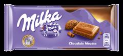 Ciocolata cu lapte si crema de cacao Milka 100g