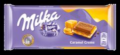 Ciocolata caramel creme Milka 100g