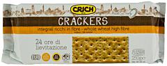 Crackers cu faina integrala Crich 250G