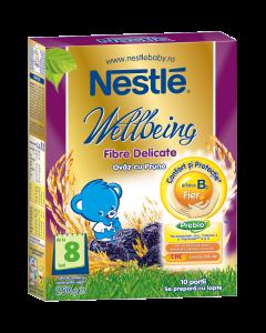 Cereale pentru sugari Nestle Fibre Delicate 250g