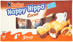 Napolitana Kinder Happy Hippo 103g
