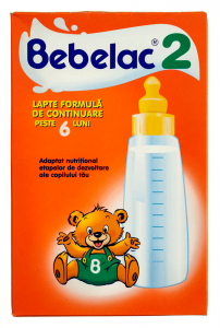 Lapte formula de continuare 6 luni+ Bebelac 2 250g