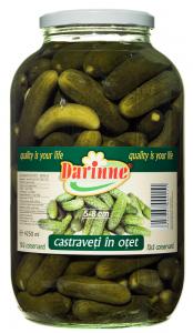 Castraveti in otet Darinne 4250ml