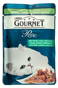 Hrana umeda pentru pisici cu vanat Gourmet Perle 85g